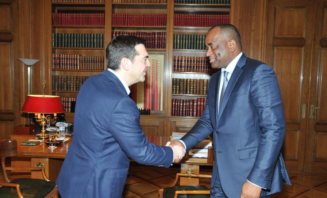 Roosevelt Skerrit meets Alexis Tsipras