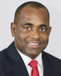 Commonwealth of Dominica's Prime Minister. Mr Roosevelt Skerrit